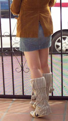 leg warmer knitting pattern