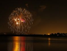 Watch the #SeaWorld #fireworks over Mission Bay from your room at the #BahiaHotel