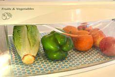 Fridge Coasters to make my fridge cute. And keep my veggies fresh.