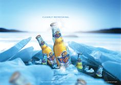 Clearly Refreshing - Tiger Crystal. Tiger Beer, Free Beer, Party Organization, Party Flyer, Commercial Photography, Liquor, Brewing, Advertising, Crystals