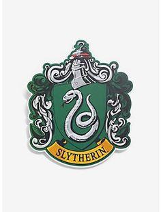 Harry Potter Slytherin Crest Wood Wall Art,