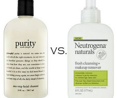 Philosophy Purity Made Simple One-Step Facial Cleanser DUPE: Neutrogena Naturals Fresh Cleansing + Makeup Remover