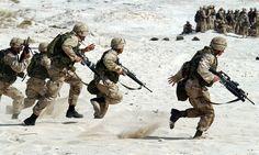 Sotilaat, Sotilaallinen, Usa, Aseet, Sota, Taistella