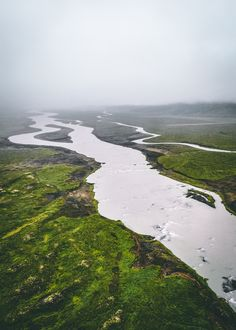 Misty landscape in Iceland Places Ive Been, Landscapes, Photos, Around The Worlds, Mavic, River, Adventure, Instagram, Nature Photography