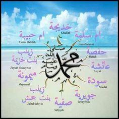 Wives of the Prophet SallAllahu Alaihi Wasallam