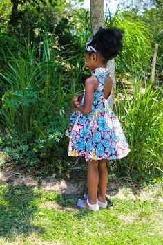 Ankara Xclusive: Modern Ankara Styles for kids 2018 That Will Blow Your Mind Ankara Styles For Kids, African Dresses For Kids, African Babies, Trendy Ankara Styles, African Children, African Girl, African Women, African Clothes, African Style