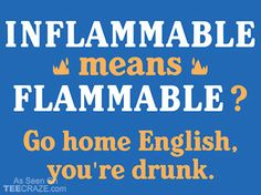 Go Home English, You're Drunk T-Shirt - http://teecraze.com/go-home-english-youre-drunk-t-shirt/ -  Designed by Snorg Tees