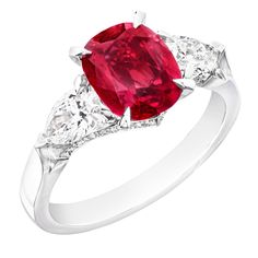 Fabergé Devotion Ruby 2.27ct Ring #Fabergé #ruby #ring