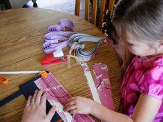 Megity's Handmade: Paper Hearts Tutorial