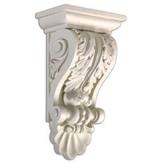Leaf Corbel 14.5-inch Wall Decoration | Overstock.com Shopping - Big Discounts on Molding