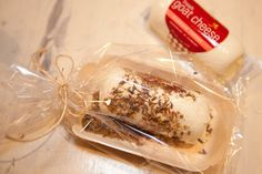 Always Order Dessert: Inspired Entertaining: DIY Goat Cheese Favor Bar -- Food Blog and Recipes