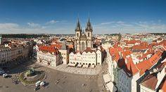 Praga La ciudad viaje desde la Torre del Ayuntamiento