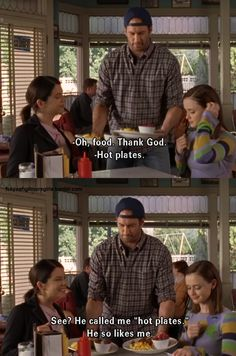 luke and lorelai, never not funny!