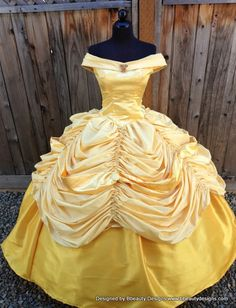 Belle Beauty and the Beast Adult Costume Gown Version por Bbeauty79, $950.00