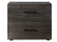 My Design Wide Bedside Table (2 drawer) main product image 1