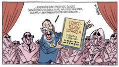 Una docena de viñetas de Manel Fontdevila para definir la situación de un país