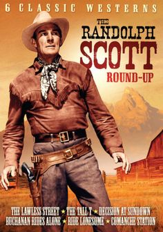 The Randolph Scott Round-Up, Volume 1: 6 Classic Westerns (2-DVD) Starring…