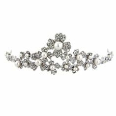 Pretty, delicate 1950s inspired tiara - Glitzy Secrets 2013 Collection