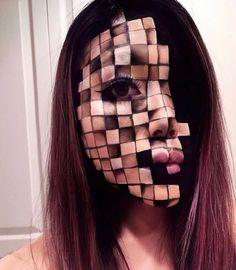 """Tilt Professional Makeup (@tiltmakeup) on Instagram: """"▫️▪️ CUBED ▪️▫️ By @mimles…"""""""