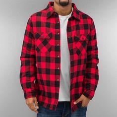 #chemise #rouge #noir #urbanclassics