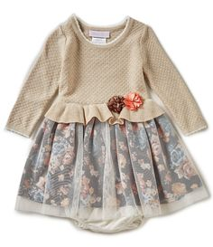 Shop for Bonnie Baby Baby Girls 12-24 Months Sweater to Printed Mesh Dress at Dillards.com. Visit Dillards.com to find clothing, accessories, shoes, cosmetics & more. The Style of Your Life.
