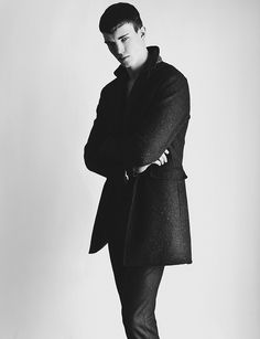 All Black Portrait