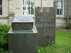 Bible monument in Estonia  Bible, Estonsko