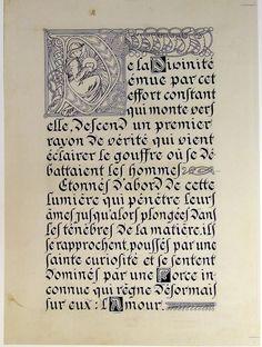 Alphonse Mucha - Le Pater | www.italialiberty.it/massoneria-artnouveau