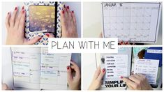 PLAN WITH ME I TERMINE, SPASS UND LEBEN Daily Organization, Organizing, Feng Shui, Planer, Bujo, How To Plan, Youtube, Organisation, Pocket Diary