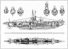 U-Boot Detailed drawing