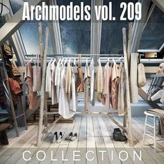 Evermotion Archmodels vol 209 :: CGPeers Beta 2 Build 723423 Cinema 4d, Wardrobe Rack, Trousers, Store Fixtures, Model, Shirts, Dress Shirt, Clothes, Shopping