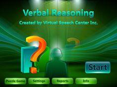 Verbal Reasoning By Virtual Speech Center Inc.