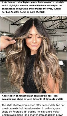 Brown Hair Balayage, Balayage Brunette, Brunette Hair, Hair Color And Cut, Haircut And Color, Summer Hairstyles, Pretty Hairstyles, Celebrity Long Hair, Light Hair