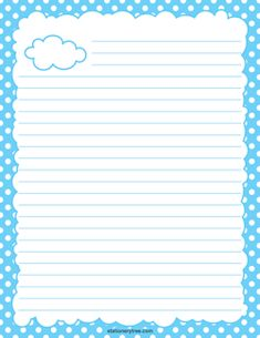 Free Printable Stationery and Writing Paper Printable Lined Paper, Free Printable Stationery, Printable Recipe Cards, Free Printables, Notebook Paper, Stationery Paper, Note Paper, Writing Paper, Lettering
