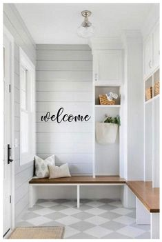 Excited to share this item from my shop: Hello & Goodbye Vinyl Wall and Door Decals - Removable Wall Decor - Farmhouse Front Door and Entryway Decor Entryway Decor, Wall Decor, Entryway Closet, Entryway Ideas, Closet Mudroom, Modern Entryway, Tongue And Groove Walls, Farmhouse Front, Modern Farmhouse