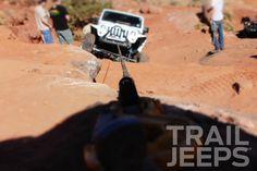 Winching up Rocker Knocker - Pritchett Canyon #EJS #Moab