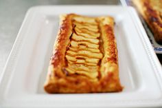 Quick and Easy Apple Tart. The perfect quick dessert! (Drizzle on caramel sauce instead of powdered sugar if you're feeling particularly naughty.)