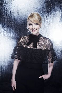 Melissa Rauch visit the CBS Photo Booth during the PEOPLE'S CHOICE AWARDS the only major awards show where fans determine the nominees and winners...