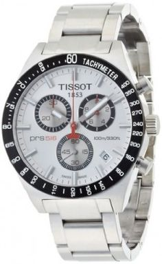 cc24b2c6267 Relógio Tissot Men s T0444172103100 T-Sport PRS516 Quartz Silver  Chronograph Dial Watch  Relogio