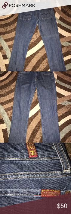 7 For All Mankind Boot Cut Jeans Excellent Condition Sz 28 7 For All Mankind Jeans Boot Cut