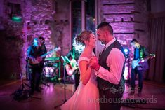 Bride and groom take first dance at Lulworth Castle wedding in Dorset Wedding First Dance, Wedding Car, Wedding Venues, Wedding Photos, Emerald Green Bridesmaid Dresses, Lulworth Cove, White Wedding Bouquets, Wedding Breakfast, Newlyweds