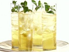 Apple and Mint Punch