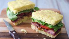 Keto BLT Sandwich (Gluten-Free, Grain-Free)