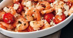 Shrimps im Backofen mit Feta zu gratinieren - darauf können sie natürlich nur in Griechenland gekommen sein.