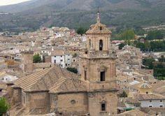 Caravaca de la cruz, un pueblo de la region de Murcia