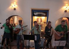 Rye Creek plays St. Patty's Day at the Taos Inn. Photo Jim Cox