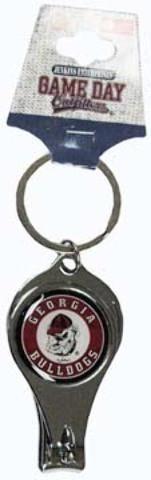 University of Georgia - Keychain Nail Clipper Bullseye