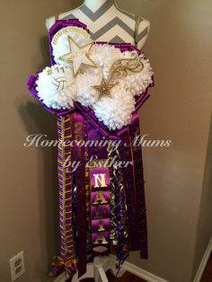 Texas Mum For Sabinal Purple And Gold