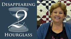 The Disappearing Hourglass 2 Quilt: Easy Quilting Tutorial with Jenny Do...
