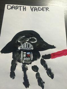 Darth Vader handprint